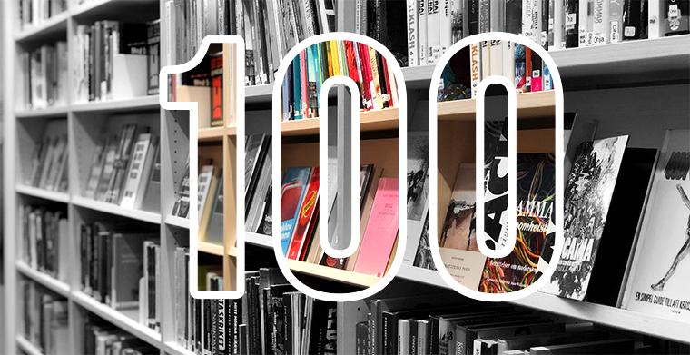 100 Mest utlånade kapitelböcker