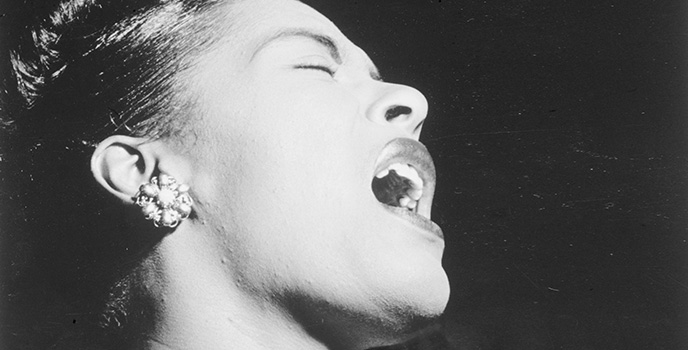 Billie Holiday. Foto: William P Gottlieb.