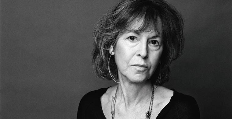 Porträttfoto av Louise Glück.
