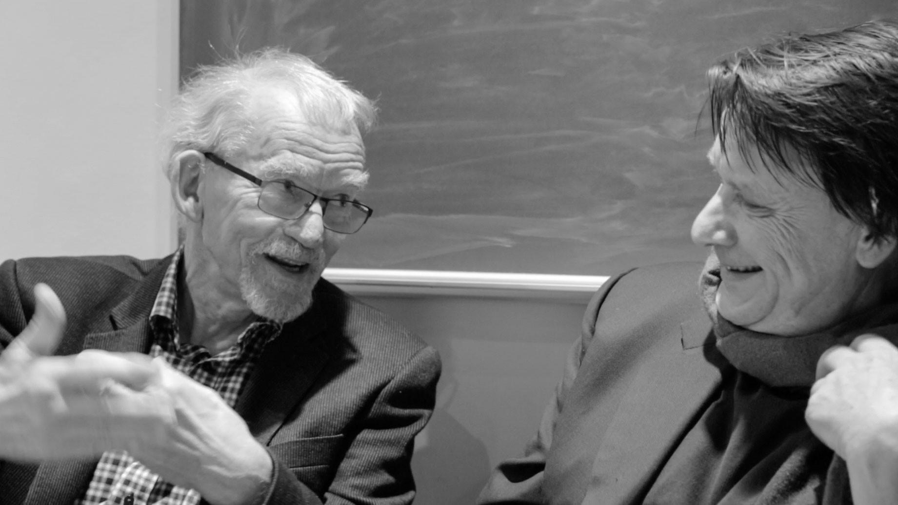 Sven-Eric Liedman och Per Magnus Johansson
