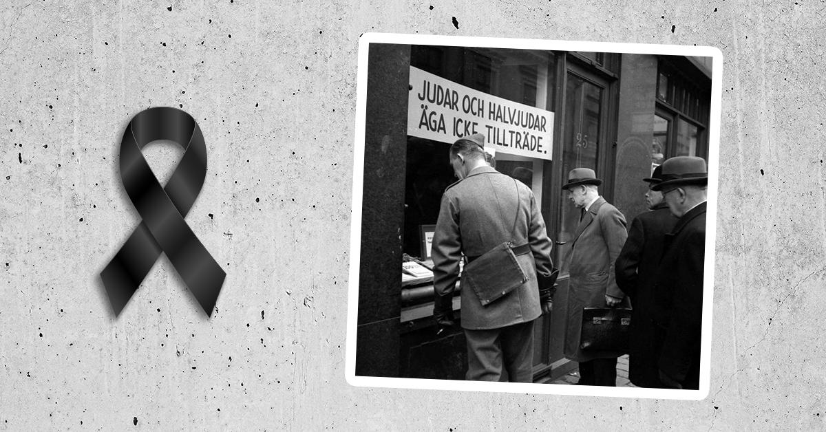 Einar Åbergs bokhandel i Stockholm i oktober 1941. Foto: Karl Sandels samling, Historisk Bildbyrå.