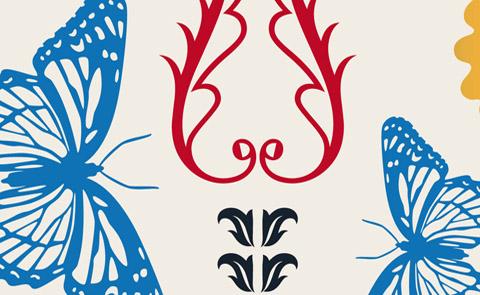 """Detalj ur omslaget till """"Folklig botanik"""". Dialogos förlag."""