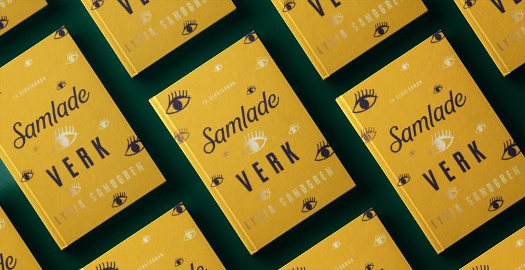 Omslag till Samlade verk av Lydia Sandgren