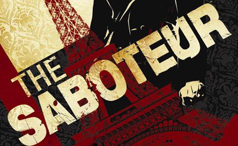 "Detalj ut omslaget till ""The saboteur"". Pandemic studios."