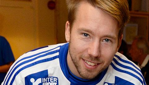Adam Johansson. Foto: IFK Göteborg