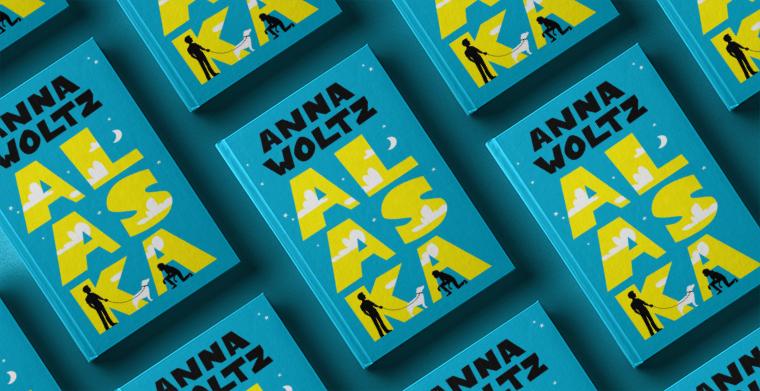 Omslag till Alaska av Anna Woltz. Lilla Piratförlaget.