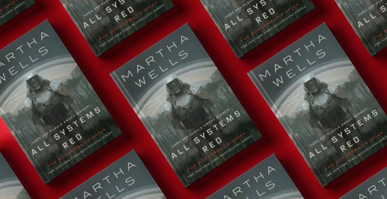 Omslag till All systems red av Martha Wells.