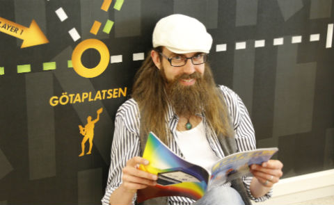 Anders Olsson. Foto: Lisa Nylén.