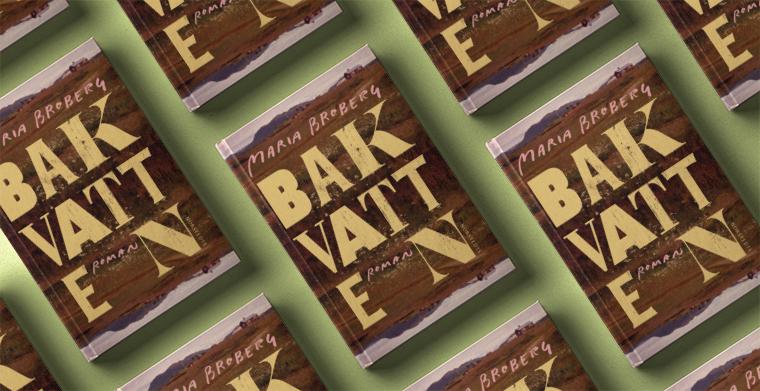 Omslag till Bakvatten av Maria Broberg.