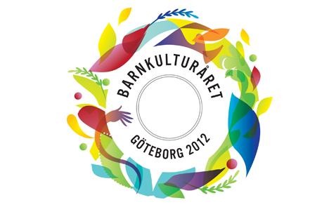 Logotyp för Barnkulturåret i Göteborg.