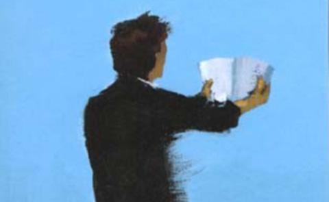 """Detalj ur omslaget på det franska originalet """"Chut"""". Utgivare: Pocket."""