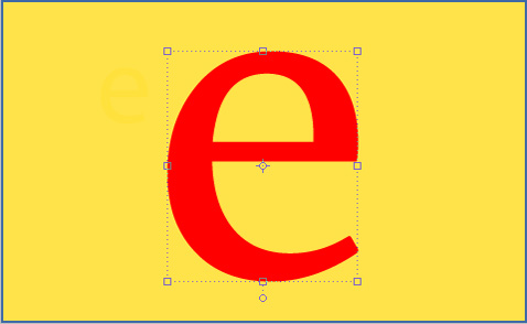 """e"". Illustration: Sara Larsson"