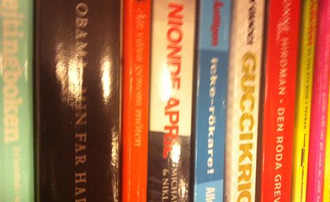 Faktapocketböcker. Foto: Sara Larsson.