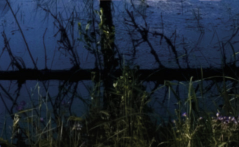 """Detalj ur omslaget till """"Händelser vid vatten"""". Albert Bonniers förlag."""