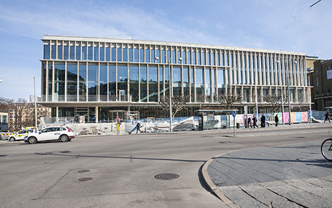 Nya Stadsbiblioteket Göteborg invigs 23 april. Foto: Anja Sjögren