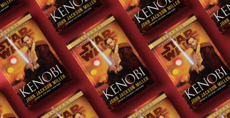 Omslag till Kenobi av John Jackson Miller. Del Rey Publishing.