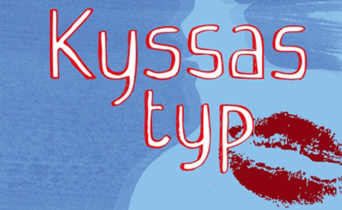 """Detalj ur omslaget till """"Kyssas typ"""". Nypon förlag."""