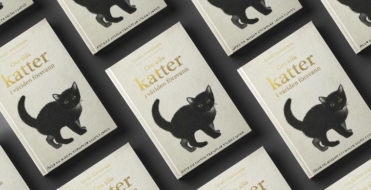 Omslag till Om alla katter i världen försvann av Genki Kawamura.