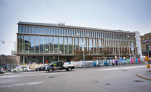 Stadsbiblioteket januari 2014. Fotograf Anja Sjögren