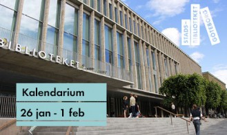 Stadsbibliotekets program 26 januari – 1 februari